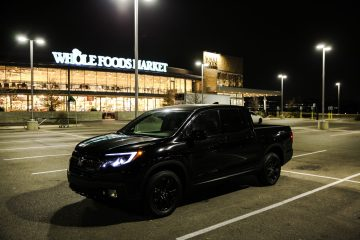 Whole Foods Honda ridgeline black edition