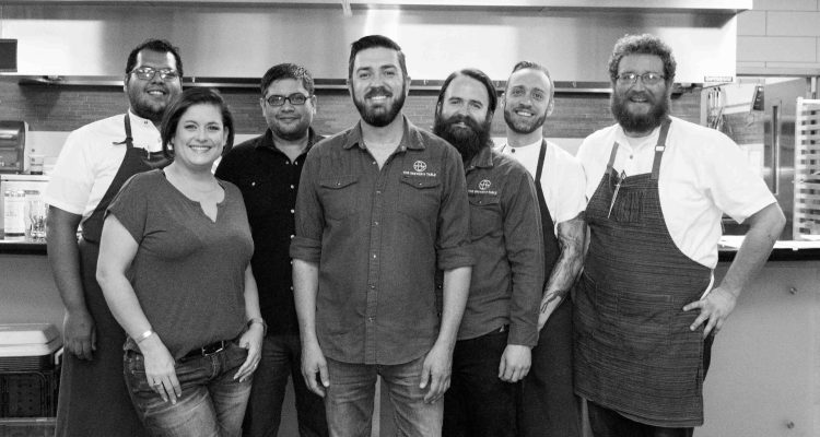 Brewer's table staff