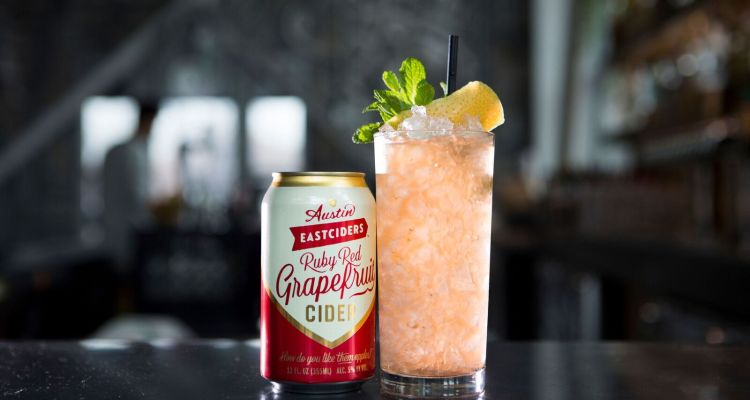 Austin Eastciders Ruby Red Grapefruit