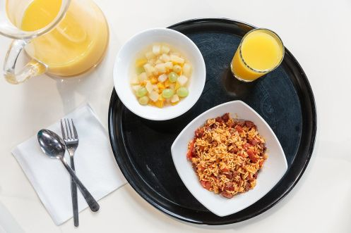 Spain Hospital food