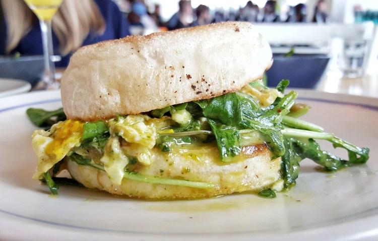 Emmer and Rye Brunch Sandwich