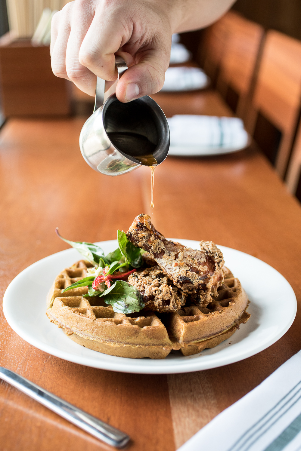 Sway Fried Chicken + Waffles