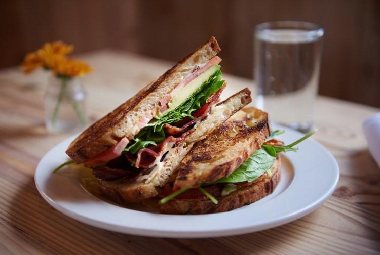 Bakery Lorraine sandwich
