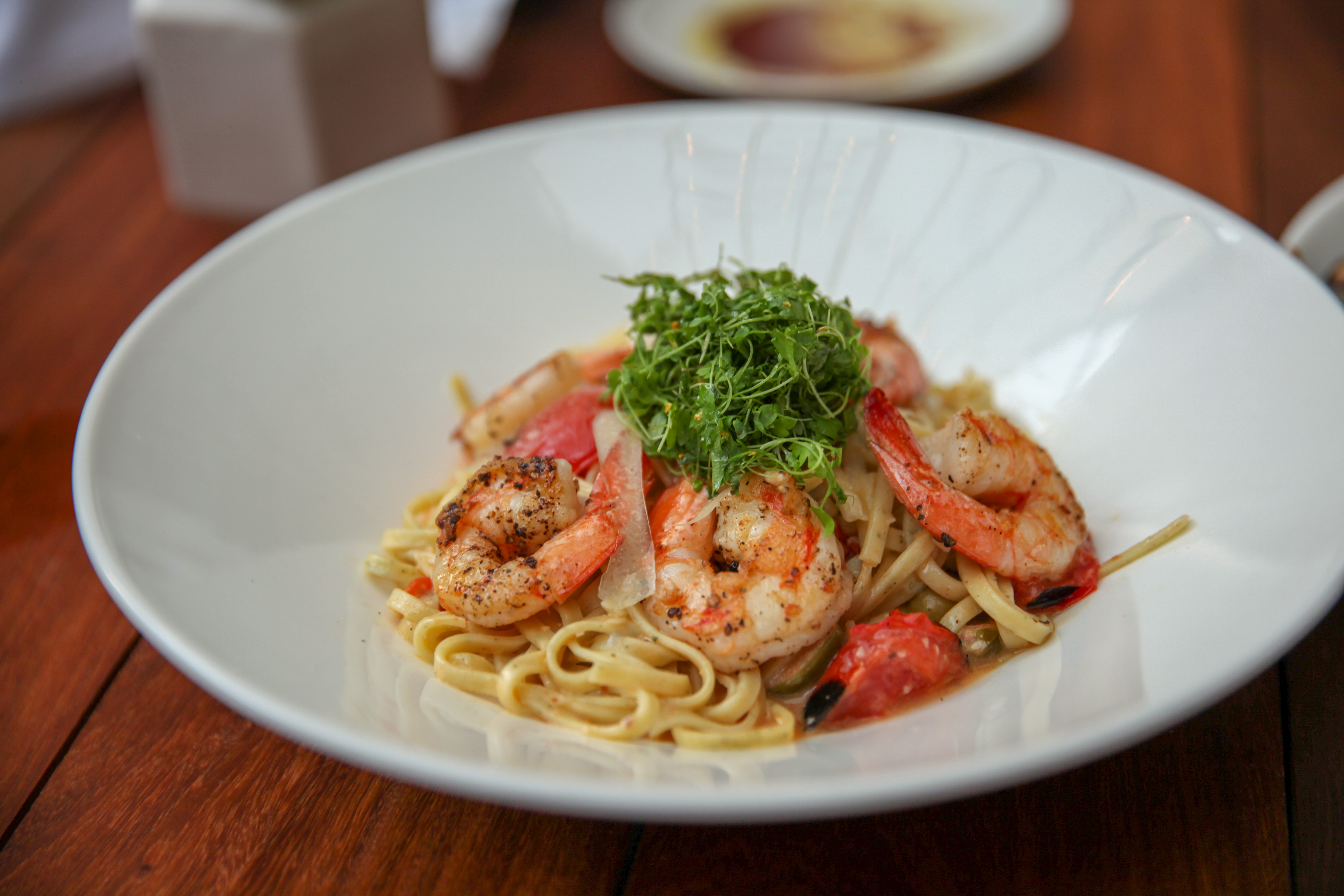 Shrimp Linguini La Volpe
