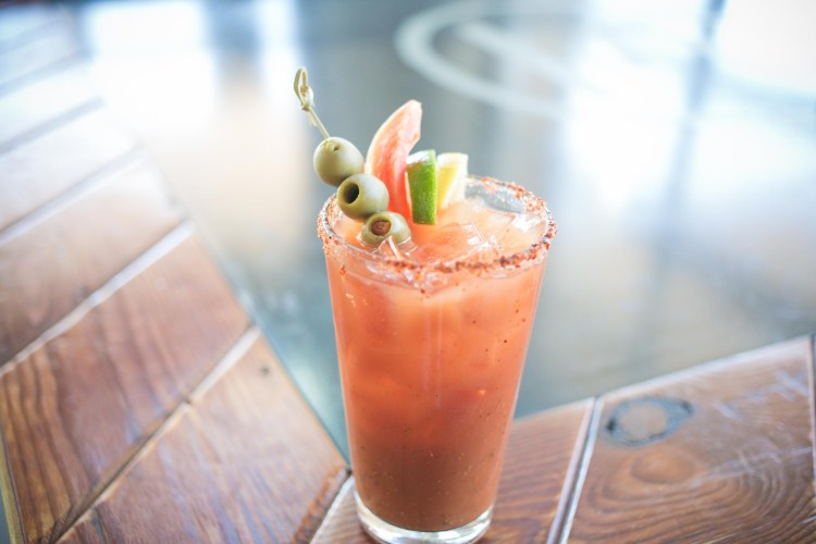 Industry brunch bloody mary