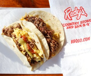 Rudy's BBQ Tacos