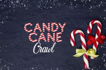 Candy Cane Crawl at Aldrich St.