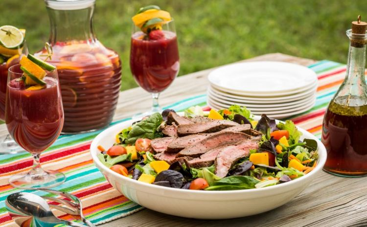Tequila & Lime Marinated Flank Steak