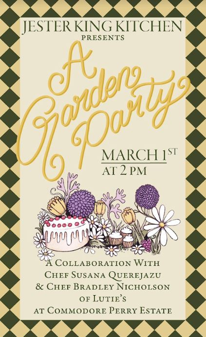 Jester King garden party