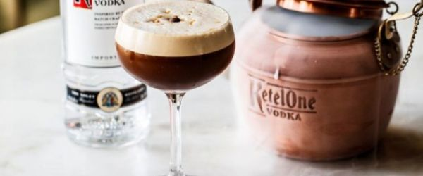 Ketel One Cold Brew cocktail