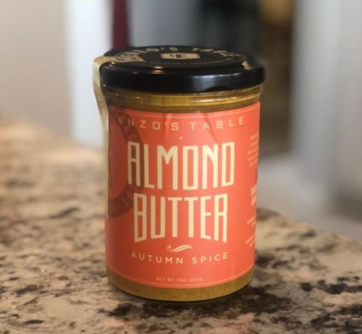 Enzo's Almond Butter