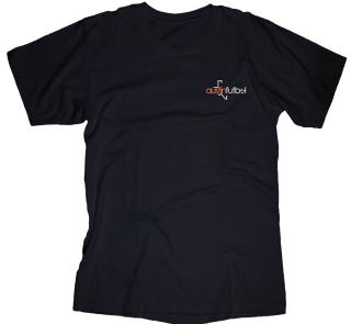 Mens front and back logo T