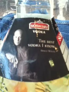 Bruce Willis Vodka