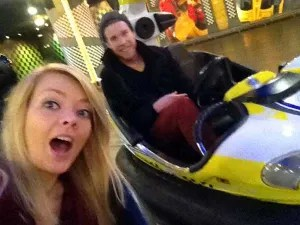 bumpercars at lotteworld