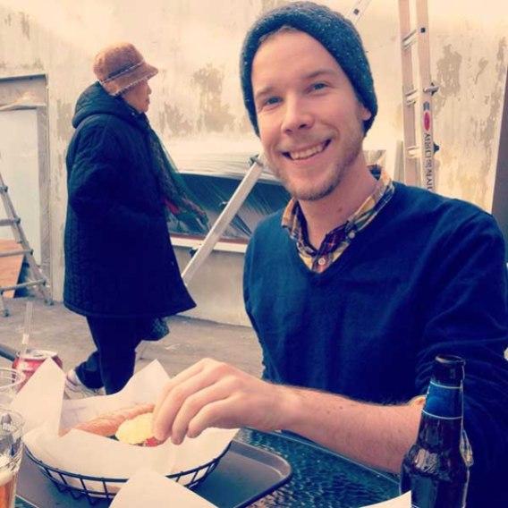 Dr. Pepper, Thanksgiving Turkey Sandwich, and Sam Adams