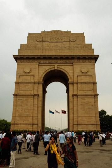 Nicole and India Gate