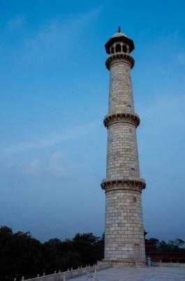Taj Mahal Minaret