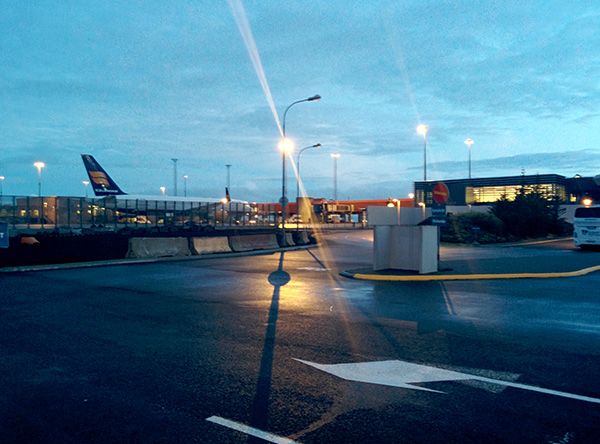 Iceland's Keflavik Airport at 1am