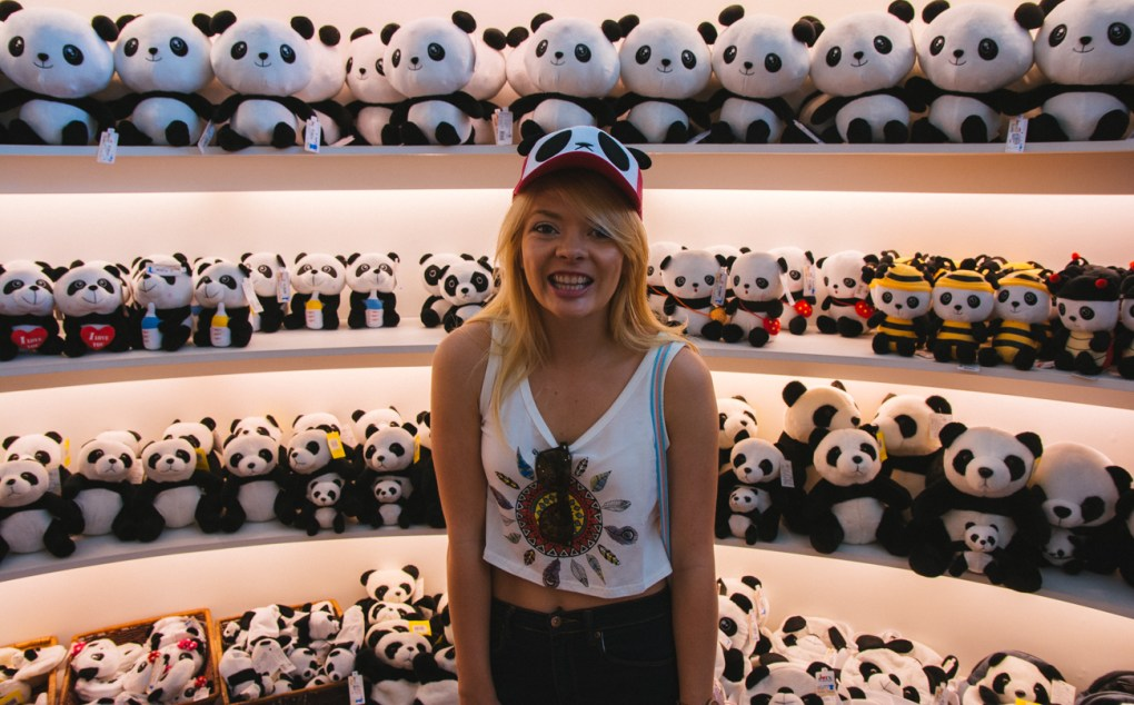 So many panda souvenirs