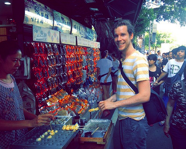 Buying Street food