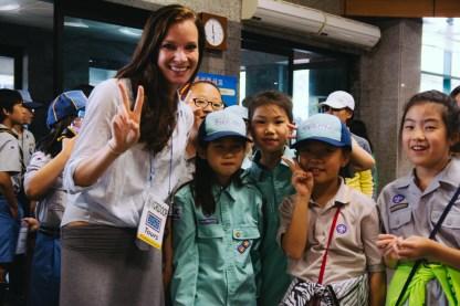 Kiana and Korean Scouts
