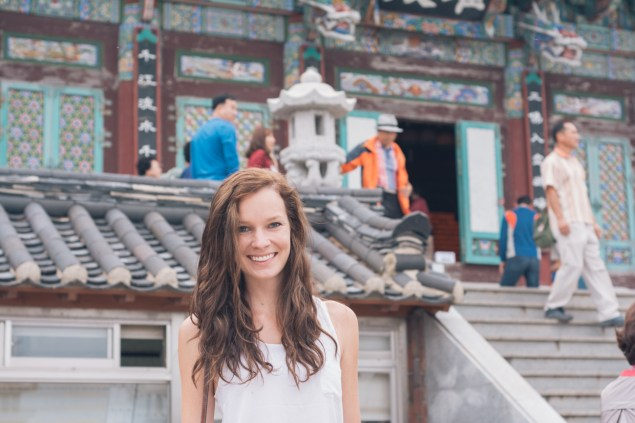 Kiana at Yonggungsa Temple