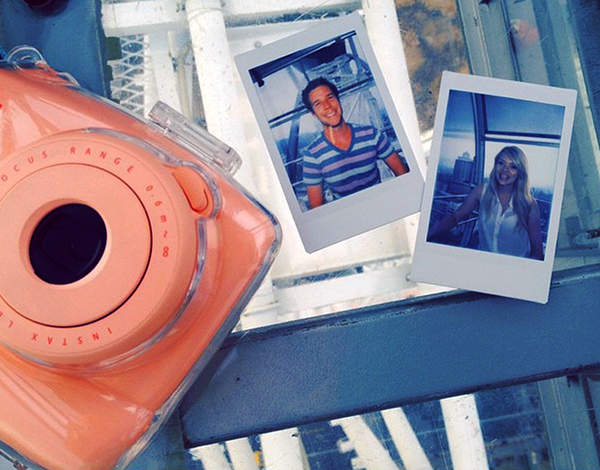 Nicole's instant camera