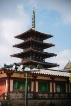 Shitennoji Temple Tower