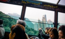 The Tram to Victoria Peak