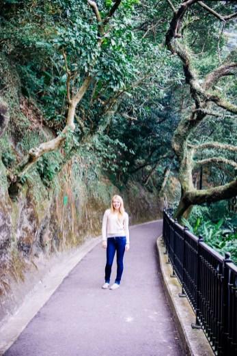 Victoria Peak walking path