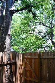 Outdoor porch area