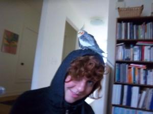 Something on my head?