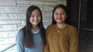 2016 Scholarship recipients Mu Lwe Say and Mayra Vasquez