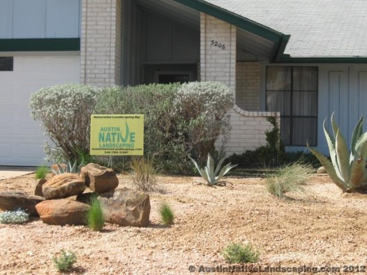 Austin-Native-Landscaping-Sign-Drought-Tolerant-Designer