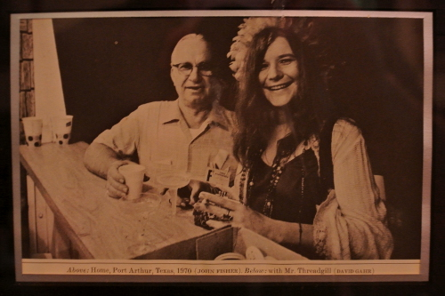 Kenneth Threadgill and Janice Joplin