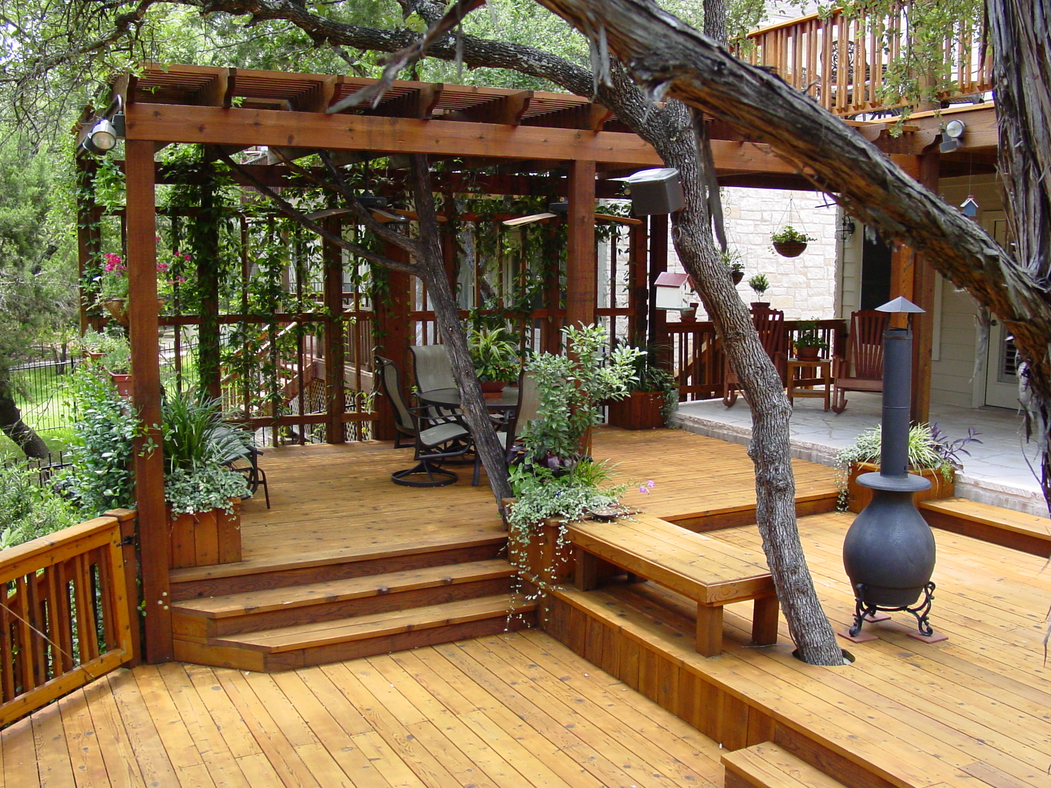 Outdoor structure event planning Austin TX | Austin Decks ... on Backyard Porch Ideas Covered Decks Diy id=71655