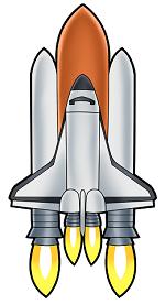 いかついロケットの画像