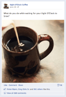 Eight O'Clock Coffee, Post 4