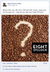Eight O'Clock Coffee, Post 7