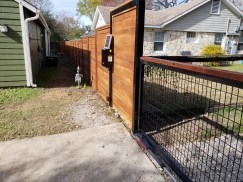 Access Control Gate. Austin, TX
