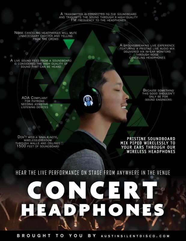 concert headphones