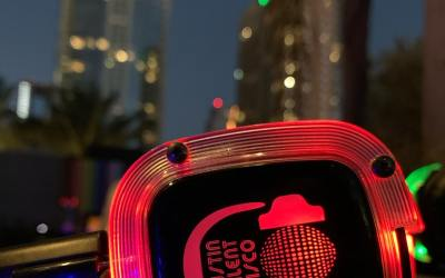 Silent Disco Party at The W Hotel Austin Wet Deck