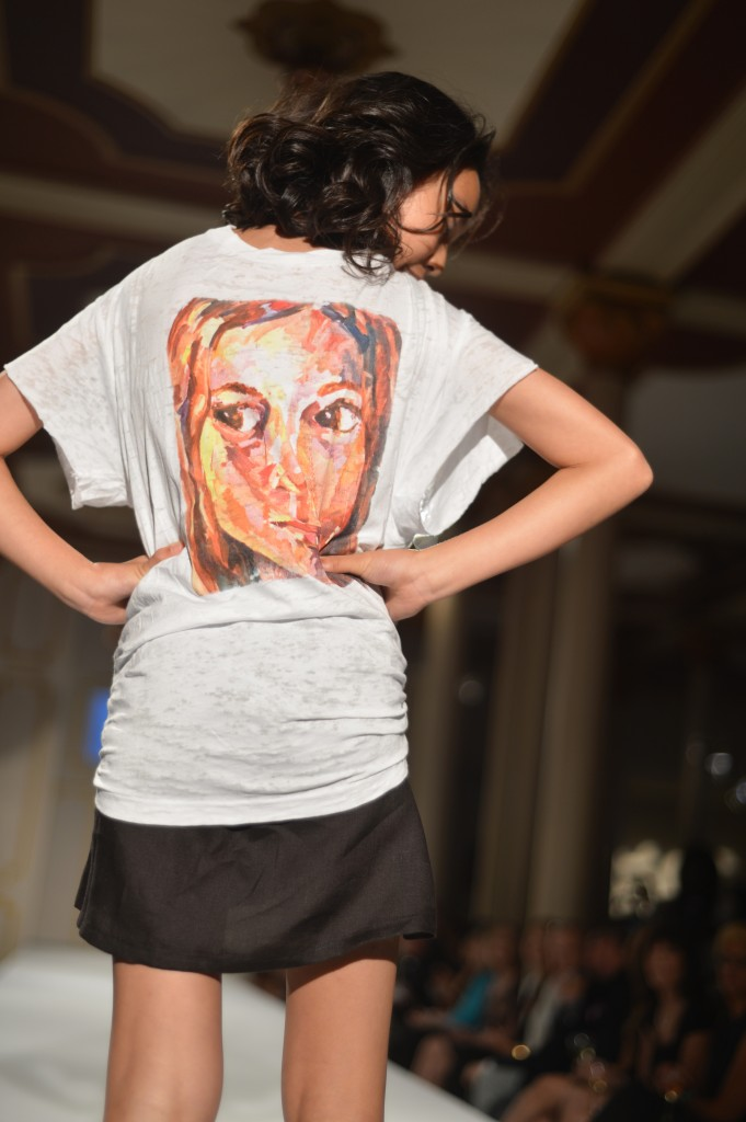 brand new bb7bb eaf4d a graphic tee showing Isabella s own self portrait