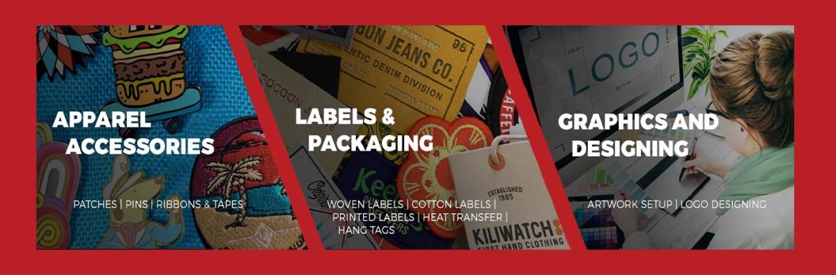 Apparel Accessories - Labels & Packaging - Logo Designing & Artwork