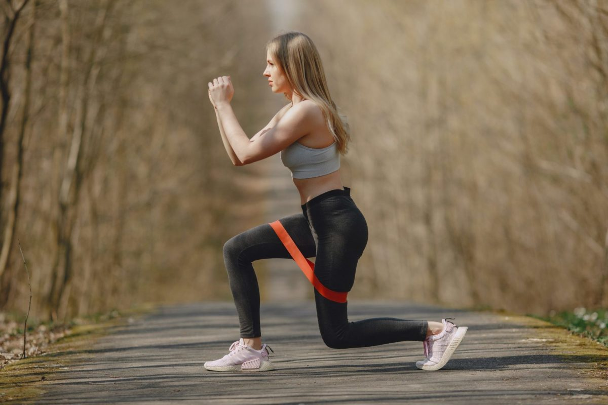 Using Elastic Band During Workout