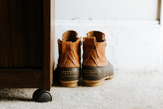 Leather Patches & Labels can be used on shoes