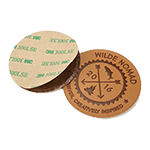 """Adhesive backing<br><p style=""""font-size: 11px;"""">Peel-off backing for leather patches</p>"""