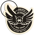 """laser Cut Edge <br><p style=""""font-size: 11px;"""">Laser-cut borders are great for patches<br> with complex or unique shapes since<br> the border is embroidered before <br>cutting out the patch.</p>"""