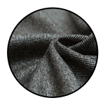 """Polyester blend twill <br><p style=""""font-size: 11px;"""">It is a smooth and durable fabric that is elegant<br> and slightly lustrous. Polyester Twill fabric <br>has a two-sided, diagonally ribbed texture and is <br>made from 100% polyester fibers.</p>"""