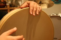 Frame drum. Drum Lessons in Ventura CA. Austin Wrinkle, instructor.